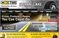 OK Tire Sylvan Lake Screenshot